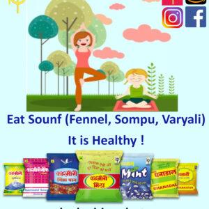 Sompu, Varyali, Kashmiri Products, Kashmiri Mitha, Kashmiri Dhanadal, Kashmiri Sounff, Kashmiri Dhanasounff, Kashmiri Mukhwas;