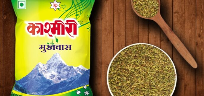 Kashmiri Products, Kashmiri Mitha, Kashmiri Dhanadal, Kashmiri Sounff, Kashmiri Dhanasounff, Kashmiri Mukhwas; Kashmiri Mint;
